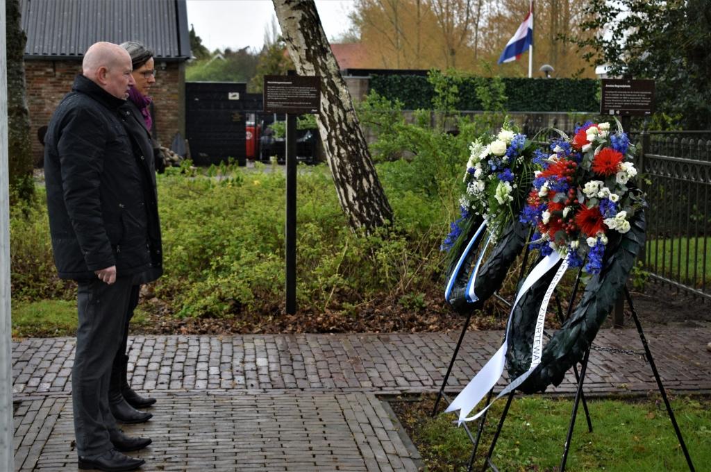 Dodenherdenking in Hasselt Foto: Gerrit Slurink