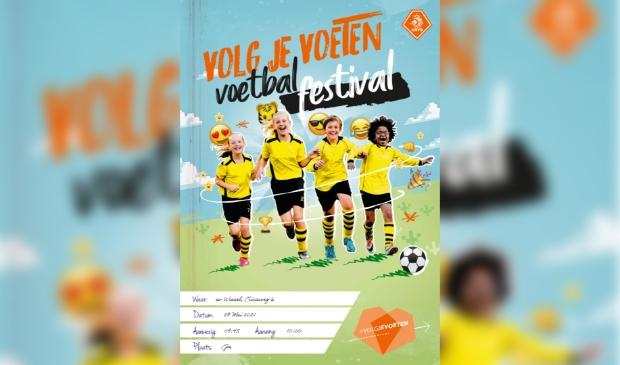 poster voetbal festival