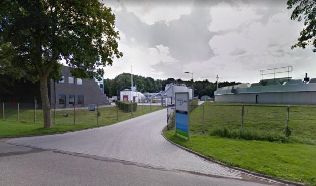 Afvalwaterzuivering aan de Installatieweg in Dronten.