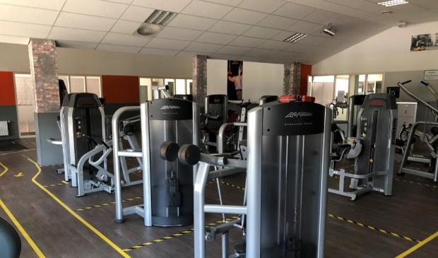 <p>Een lege fitnesszaal bij Van Dijk Sport & Fitnesscentrum.&nbsp;</p>