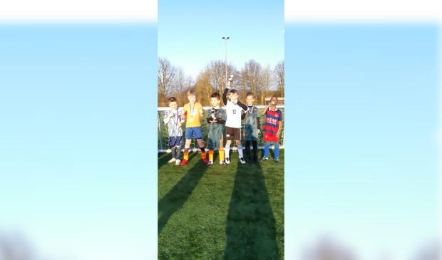 <p>Winnaars maart: Jesse Snabel en Roan van Beinum</p>