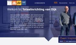 Totaalinrichting van Dijk lanceert nieuwe website