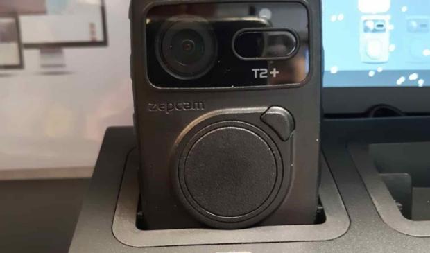 Een bodycam.