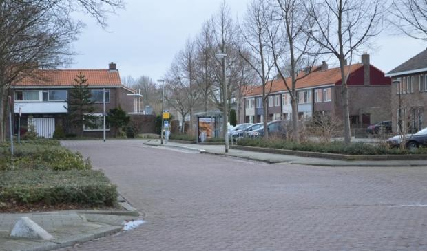 Busstation Biddinghuizen.