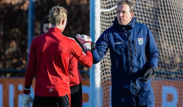 <p>Diederik Boer, als doelman gestopt in 2019, is de nieuwe keeperstrainer van PEC Zwolle.</p>