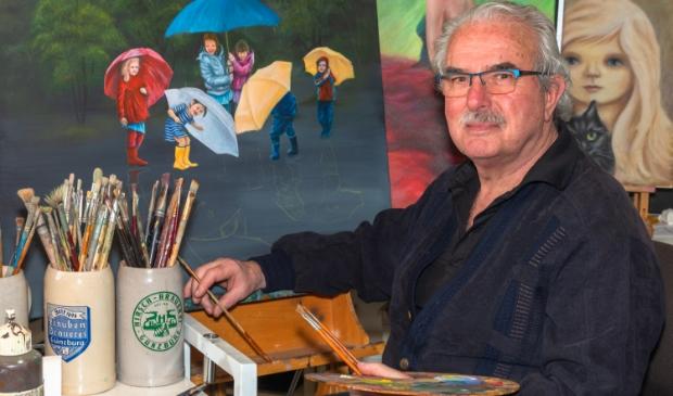 Aad Gordijn's vader zag geen toekomst in de kunst.
