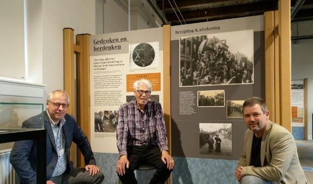 Floris Joustra (links), Jaap Berkhout en Herman Broers