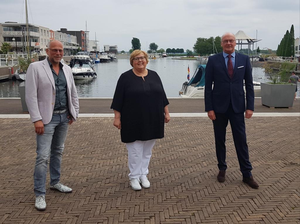 Rob Smeets, Yvonne van Bruggen en Ruud Visser