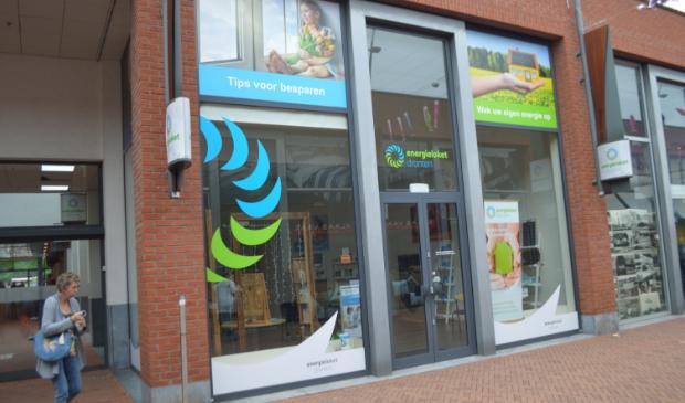 De winkel van het energieloket in Dronten.