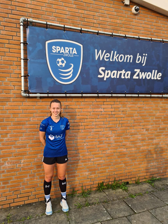Marit Strating terug bij Sparta. Foto: Remco Jacobs © brugmedia