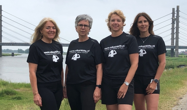 <p>Vlnr: Annet van Unen, Ingrid van der Haar, Alice Riezebos en Lydia Wezenberg.</p>