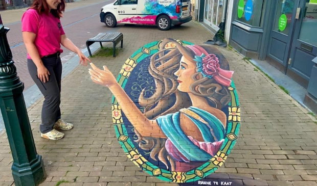 3D Streetartist Rianne te Kaat