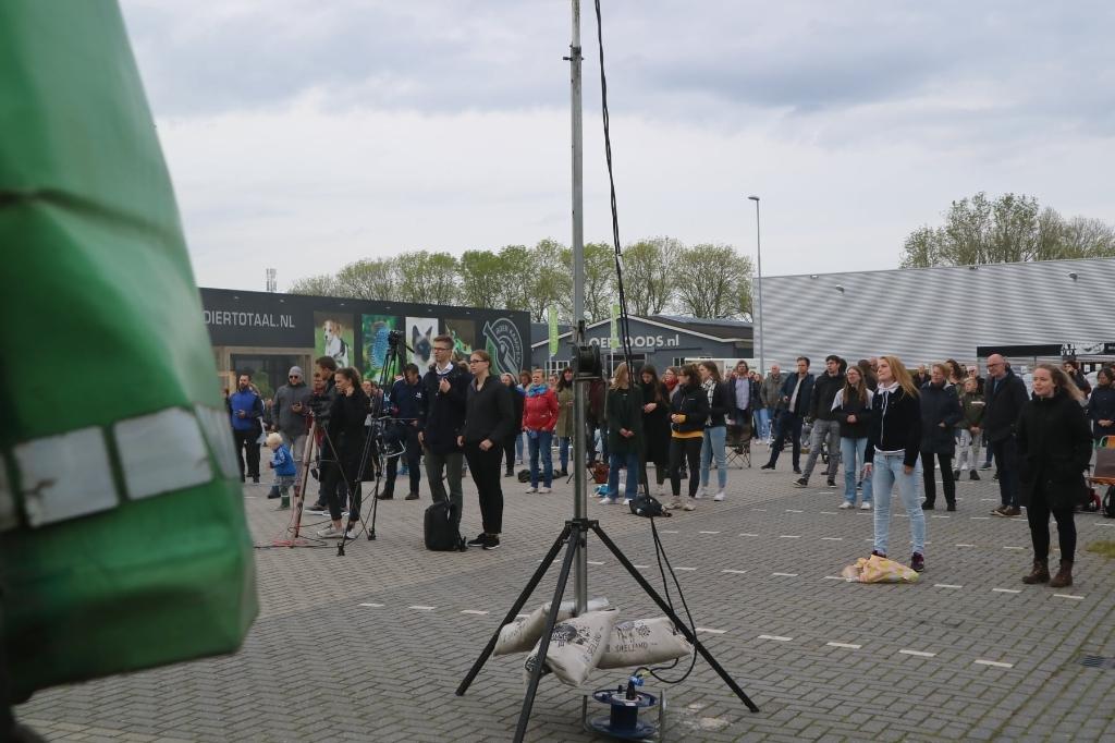 Bijeenkomst aan de ambachtstraat eerder dit jaar Kampen voor Jezus © brugmedia