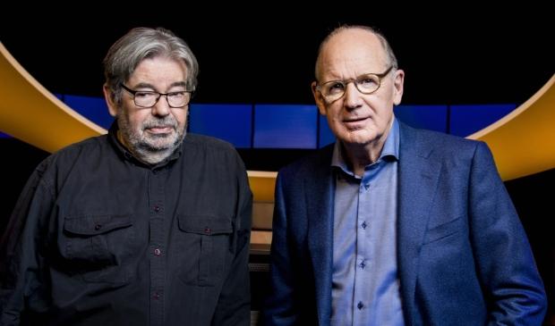 <p>Maarten van Rossem en Philip Freriks.</p>