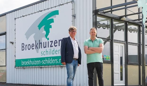 Tijco Broekhuizen (links) en Sebo Post.