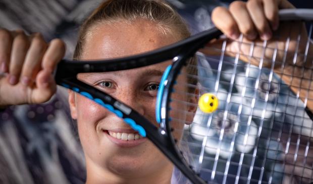<p>Tennisster Sarah van Emst.</p>