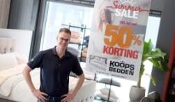 Start Summer sale bij Koops Bedden