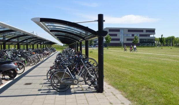 Fietsenstalling station Dronten.