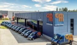 Nieuw wagenpark GMM Luchttechniek