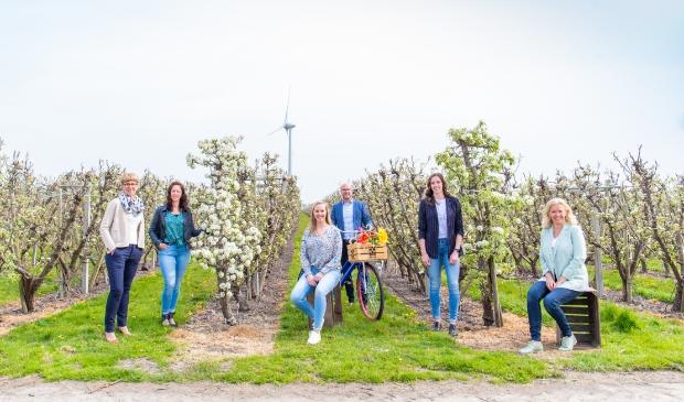 Het team van Woltjer Makelaardij