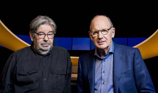 <p>Maarten van Rossem en Philip Freriks op werkdagen op NPO 2.</p>