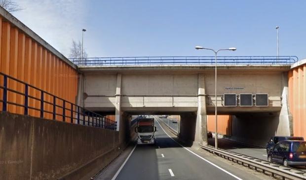 Aquaduct Veluwemeer bij Harderwijk.