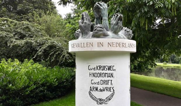 <p>In klad is de naam al toegevoegd op het Indi&euml;monument in het Kamper Stadspark</p>