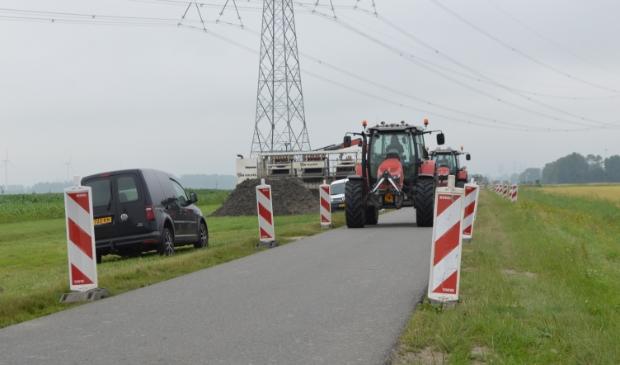 Verkeersmaatregelen op de Visvijverweg.