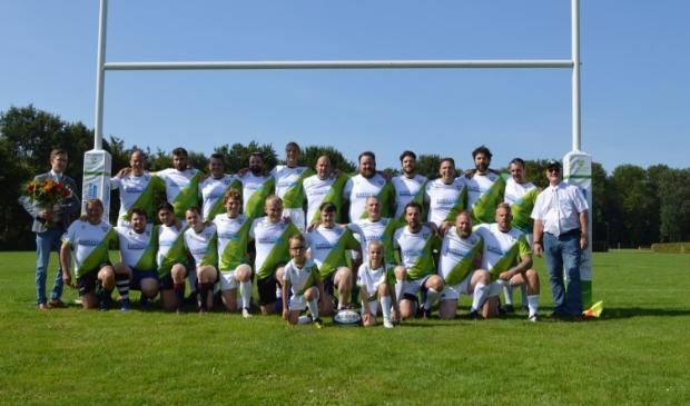 <p>Het seniorenteam van Rugby Club Dronten.</p>