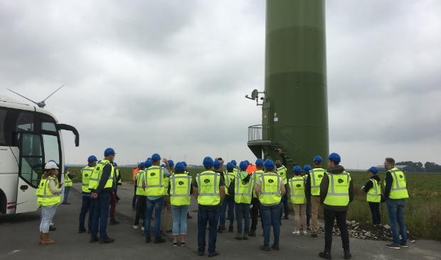 Windplan Blauw hield zaterdag een excursie voor belangstellenden.