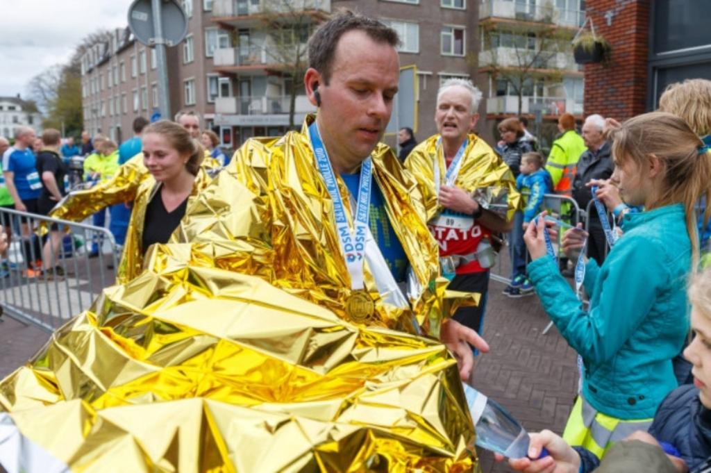 Winnaar van de 10 mijl in 2016 Jos Verdaasdonk. Foto: Pedro Sluiter © brugmedia