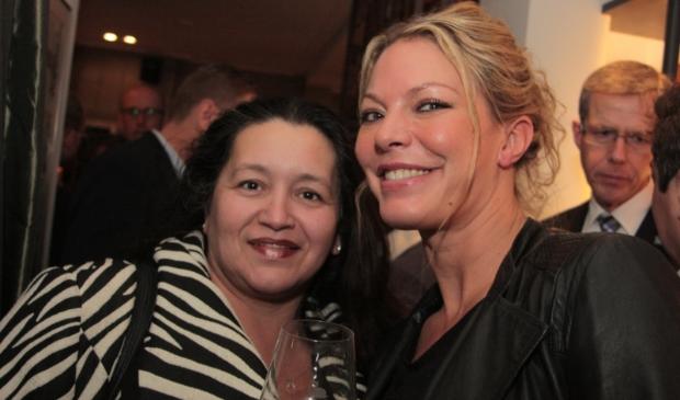 Nancy Fermont en Sayna Berends.