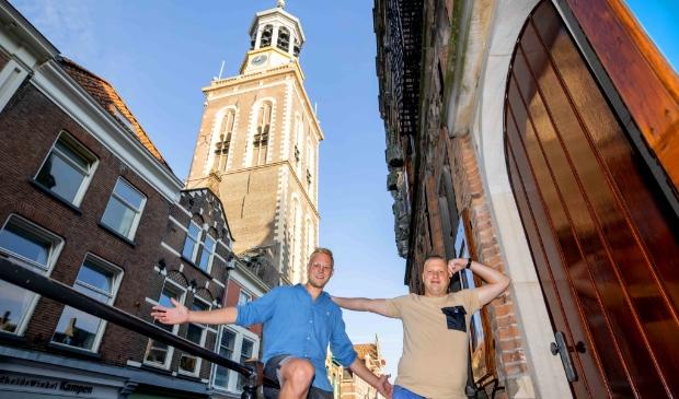Links Jos Hogenbirk, rechts Jacco Swillens.