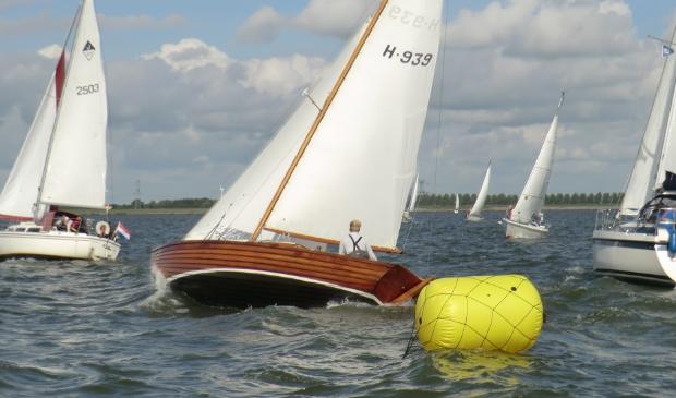 Tijdens de wedstrijden worden foto's gemaakt van alle schepen.