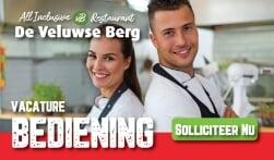 Kom werken bij restaurant De Veluwse Berg