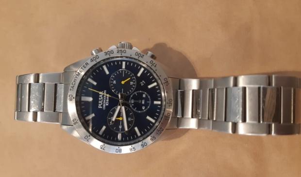 De politie is op zoek naar de eigenaar van dit horloge.