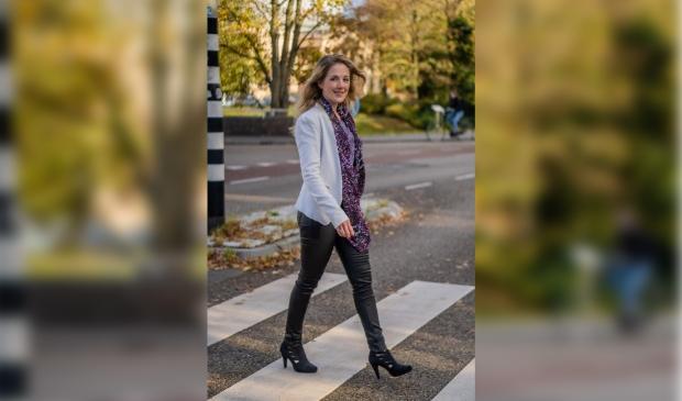 Yvonne Sprick, loopbaancoach en eigenaar van Sprick Coaching & Communicatie in Zwolle (fotograaf: Yara Dragt)