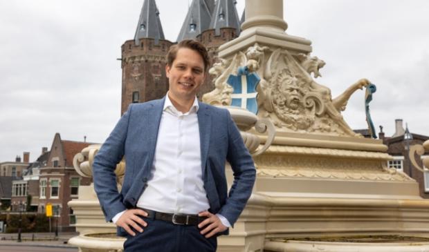 Johran Willegers, fractievoorzitter VVD Zwolle.