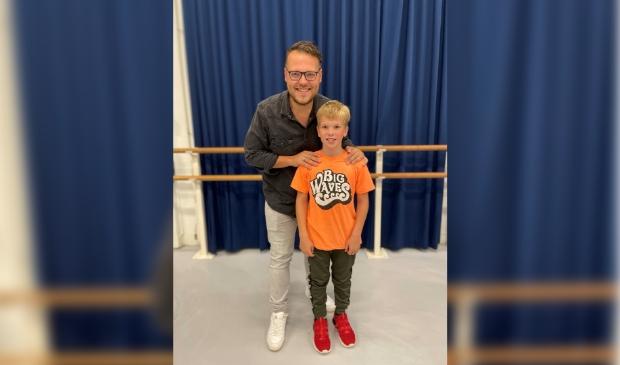 Jann Hogeboom (Cis) en Lucas Boersma (Ciske)