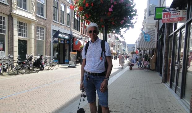 Peter uit Alphen aan den Rijn voelt zich op zijn gemak in Kampen