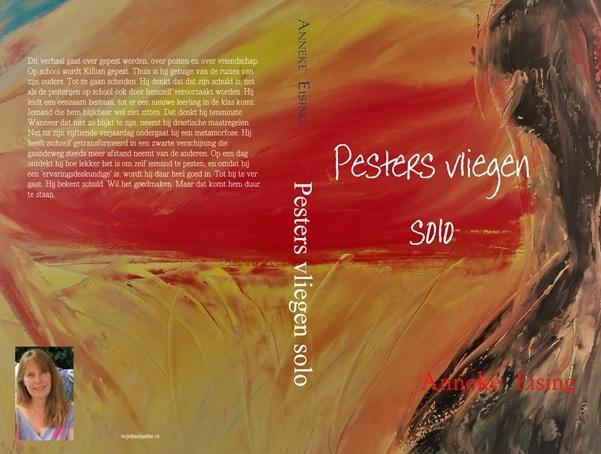De cover van het nieuwste boek van Anneke Eising.