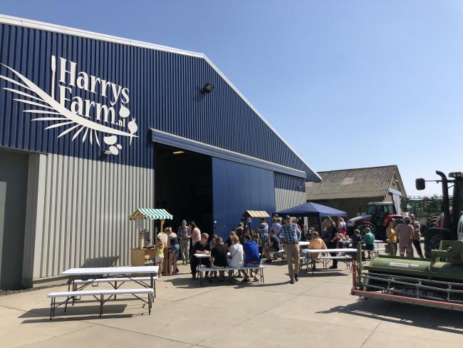 Open dag bij Harrysfarm.