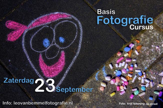Basis Cursus Fotografie