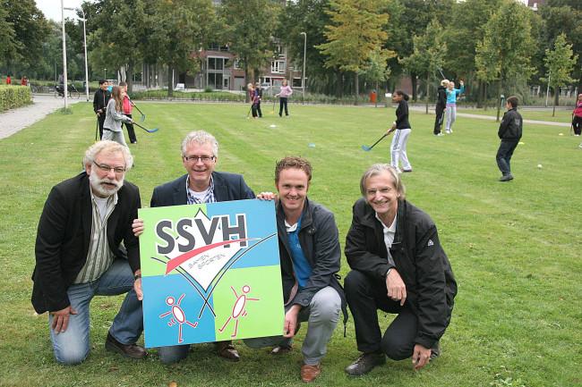 Wethouder geeft officiële startsein Schoolsportvereniging Holtenbroek