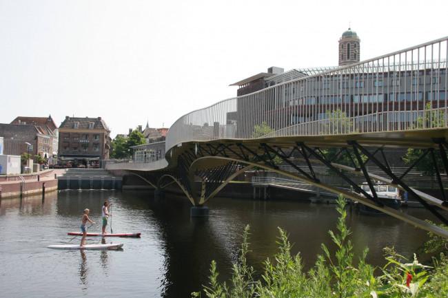 Rodetorenbrug  gaat maandag open voor fietsers en voetgangers