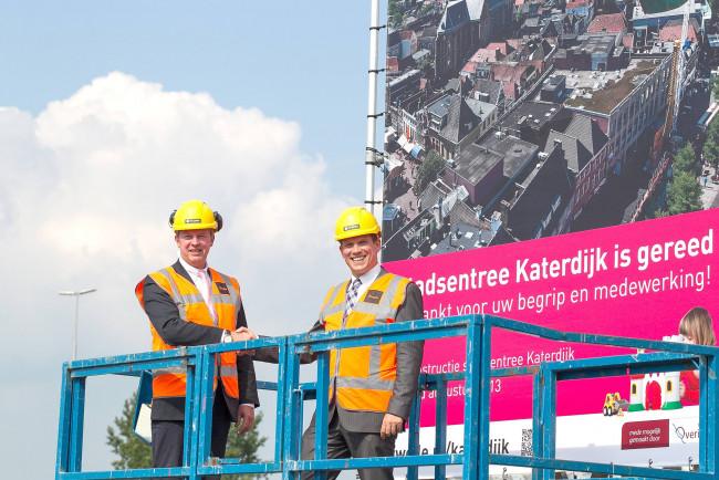 Reconstructie van stadsentree Katerdijk is afgerond