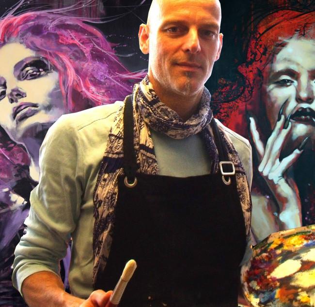 Expositie Henk Nyenhuis bij kapsalon Hair Unlimited