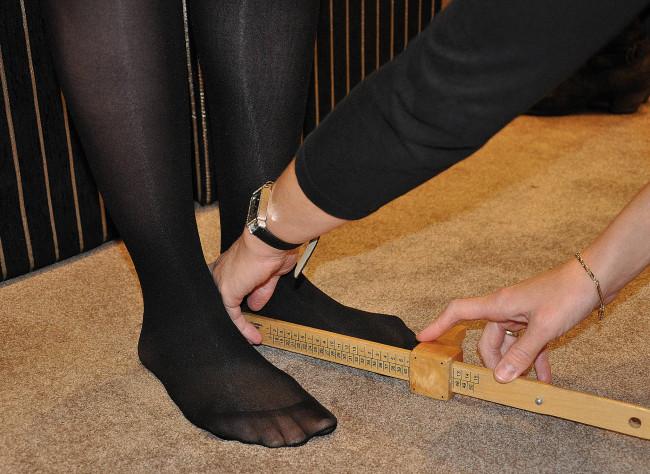Meten = weten bij Wieten Schoencomfort