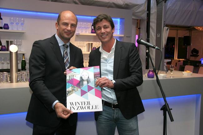 Aftrap 'Winter  in Zwolle' bij het IJsbeeldenfestival