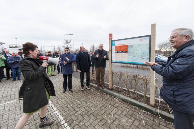 Wandelnetwerk IJsseldelta officieel geopend